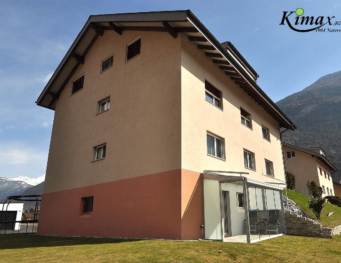 Kauf: Wohnung mit Wintergarten in Brigerbad